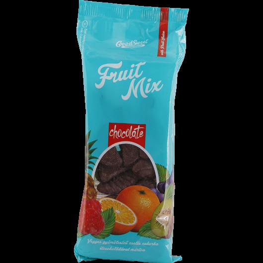 Zselés cukorkák étcsokoládéval mártva