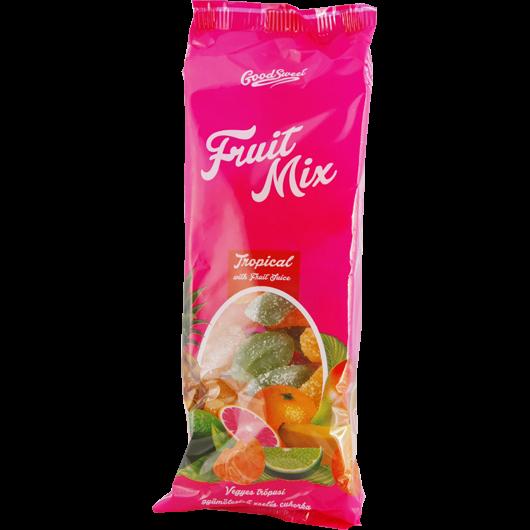 Trópusi ízű zselés cukorkák
