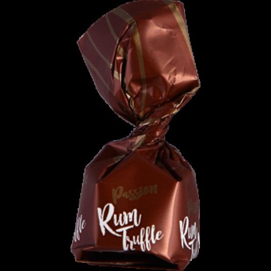 Rum-trüffel étcsokoládéval
