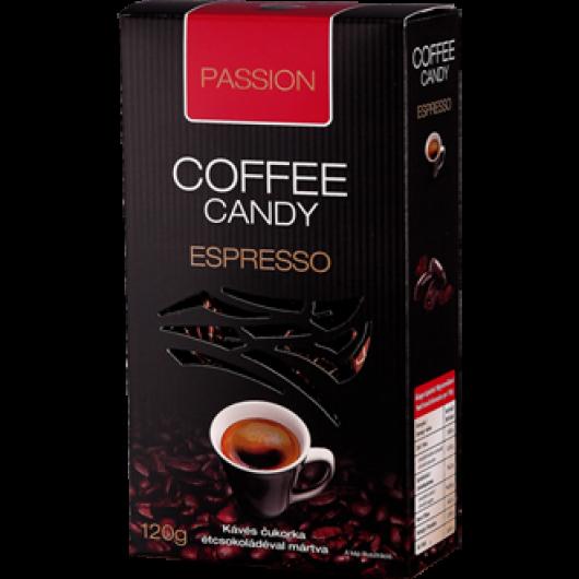 Passion- Kávés cukorka étcsokoládéval márta (espresso)