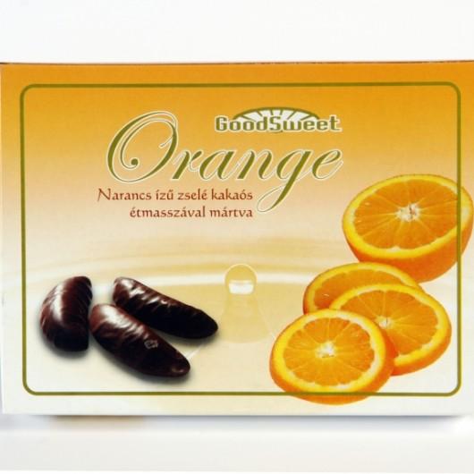 Narancs ízű zselé